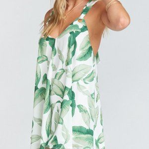 SHOW ME YOUR MUMU Tropical Riri Palm Tree Romper